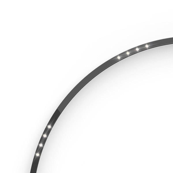 Artemide Architectural A.24 Curved Elements α = 90° F24° r=750mm AR AQ73804 Black