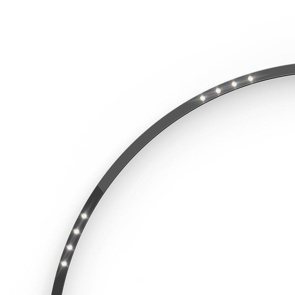 Artemide Architectural A.24 Curved Elements α = 90° F62° AR AQ63604 Black