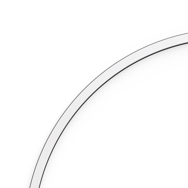 Artemide Architectural A.24 Curved Elements α = 90° r=561mm AR AQ61104 Black