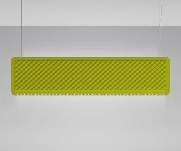 Artemide Architectural Eggboard Baffle Suspension DALI AR AZ22251 Grey