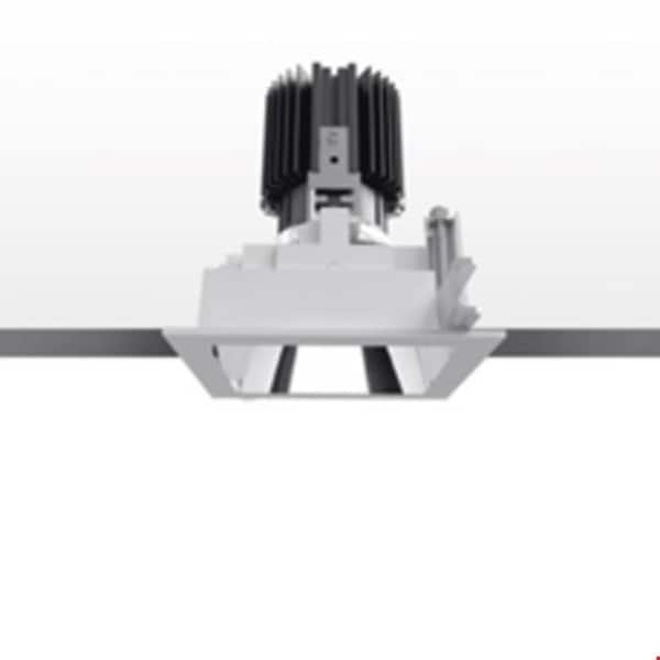 Artemide Architectural Everything 105 Square trim 46° Fixed AR M329560 Silver / Black