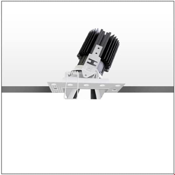 Artemide Architectural Everything 105 Square trimless adjustable 25° AR M329905 Black