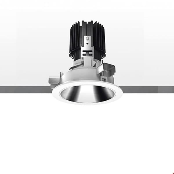 Artemide Architectural Everything 80 Round trim 46° Fixed AR M326210 Black / Black