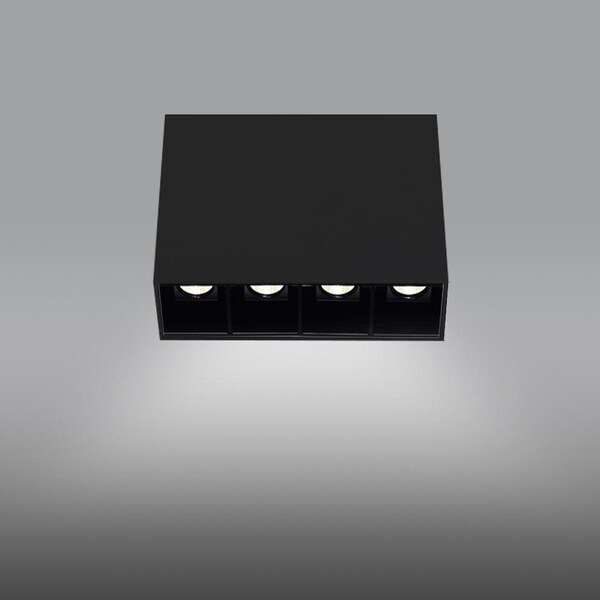 Artemide Architectural Sharp SMD 4L AR AF41404 Black