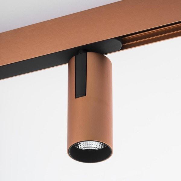 Artemide Architectural Vector 55 Zoom Magnetic AR AP15418 Copper