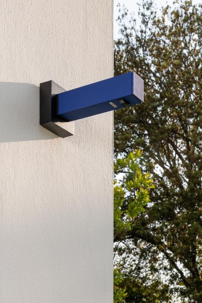 Artemide Architectural Walking Wall, Functional Sym. AR T4503SM050 Blue