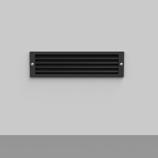 Bega Recessed wall luminaires shielded light as location luminaires BE 33018K4 Graphite