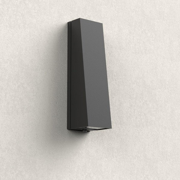Bega Wall luminaires for installation on columns and wall faces BE 33513K4 Graphite