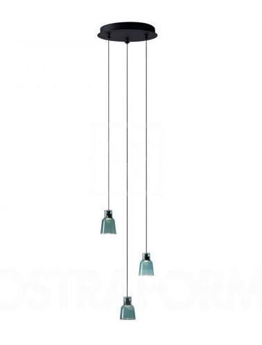Bover Drop&Drip Drip S/03 Lights BV 25903215121 Ebony black
