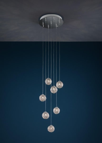 Catellani & Smith Sweet Light Chandelier CS CSL3QL Aluminium