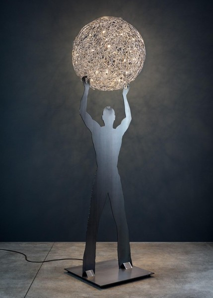 Catellani & Smith Uomo della Luce XXL CS UIPL Aluminium
