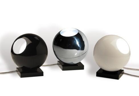 Dark 12-25 table light ar111 45W 230V  DA 4050210000 Glossy black