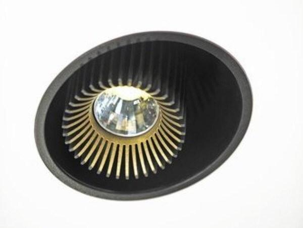 Dark Coolfin box1 R recessed LED 25W 60° 4000K 700mA  DA 83202250406001 Black / Black
