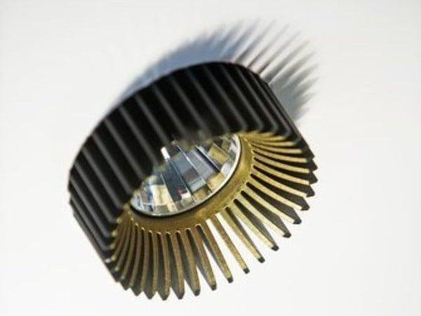 Dark Coolfin crown R recessed LED 14,6W 40° 3000K 700mA  DA 83102146304001 Black / Black