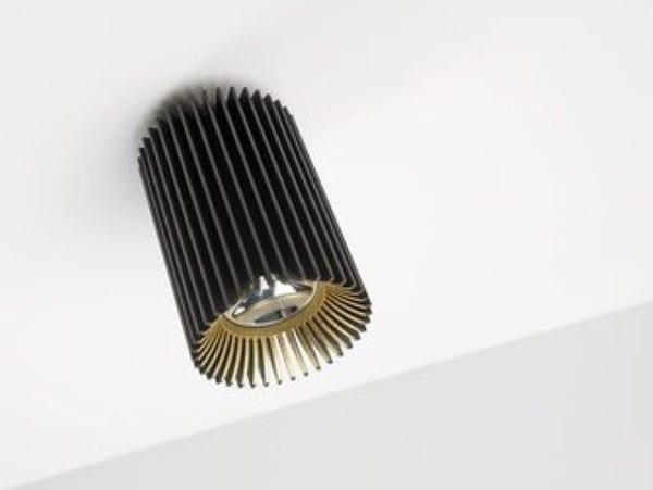 Dark Coolfin R ceiling LED 14,6W 60° 3000K 700mA  DA 83002146306000 Black / Black