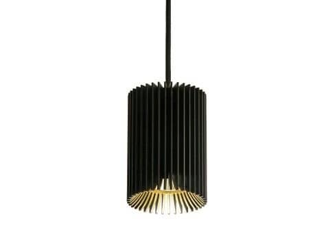 Dark Coolfin square suspension gu10(ø50) 50W  DA 8390206500 Black / Black