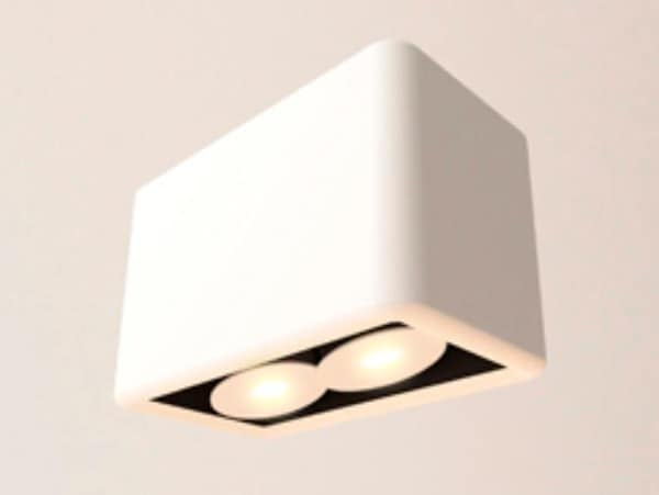 Dark Paint-it 2 LED 2x7,2W 34° 2700K  DA 870072273400 White