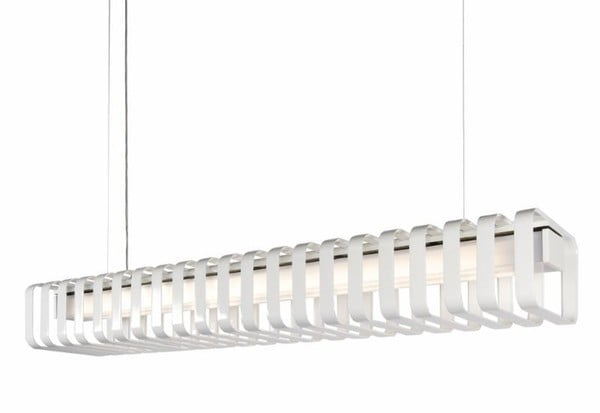 Dark Spine 2x28W dimmable 1,5m  DA 5300222901R Black