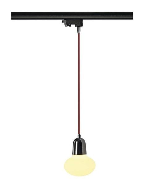 SLV HV 3 circuit track PIRUS pendulum lamp DM 153121 Chrome