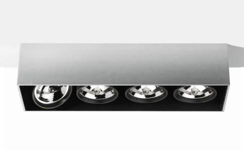 Flos Architectural Compass Box Large 4L Linear Halo AN 03.1063.29 Anodised aluminium
