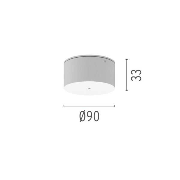 Flos Architectural Find Me Surface power supply rose AN 08.8783.30 White