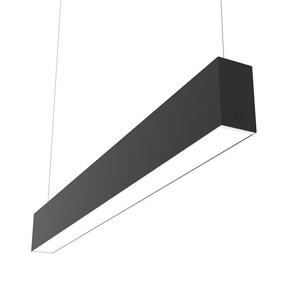 Flos Architectural In-Finity 70 Suspension Up & Down General Lighting Emergency Module Dim DALI AN N70UEM3G14BDA Black
