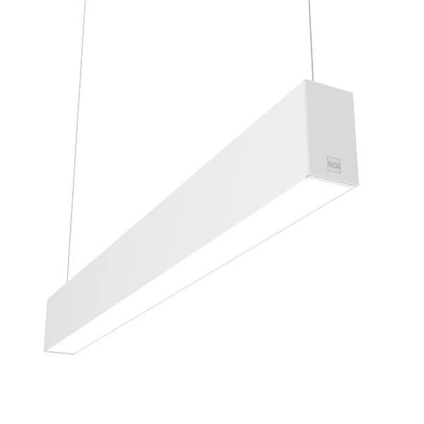 Flos Architectural In-Finity 70 Suspension Up & Down General Lighting Emergency Module Dim DALI AN N70UEM4G30BDA White