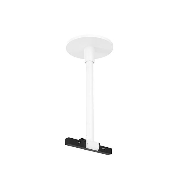 Flos Architectural Infra-Structure Mechanical Rod Rose ø140mm AN 06.5117.40 White