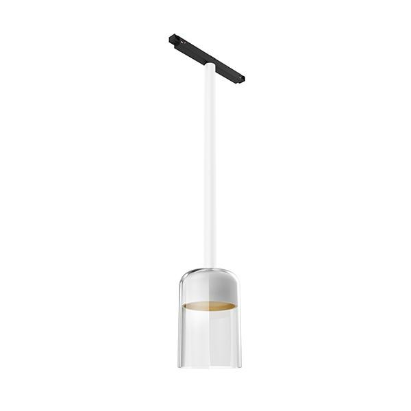 Flos Architectural Infra-Structure Suspension Glass Downlight 110 AN 03.8138.00 White