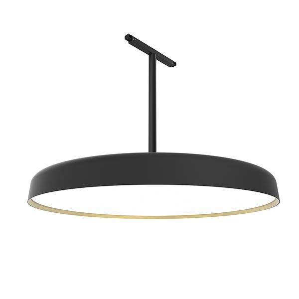 Flos Architectural Infra-Structure Suspension Panel 600 AN 03.8142.14 Black / Gold