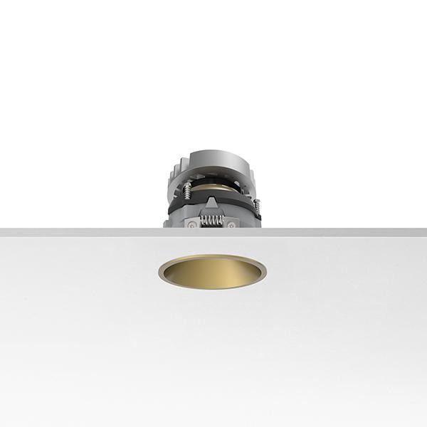 Flos Architectural Kap Easy 80 Round Adjustable AN 03.4171.GL Gold
