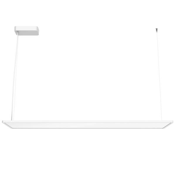 Flos Architectural Super Flat SUSPENSION 120x30 DOWN TOP LED AN 09.5041.30BDA White