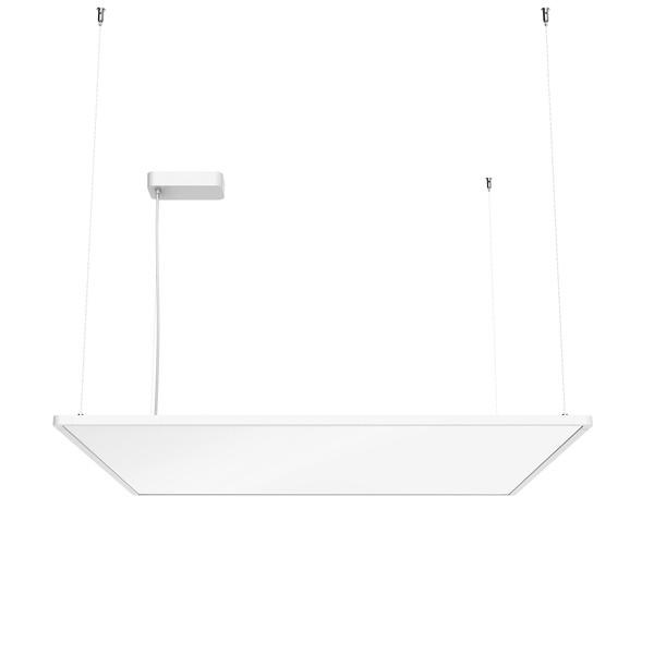Flos Architectural Super Flat Suspension 90×90 Up&Down Dali Version AN 09.5026.30BDA White