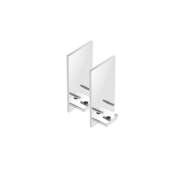 Flos Architectural The Tracking Magnet End Caps AN 06.5017.05 Chrome