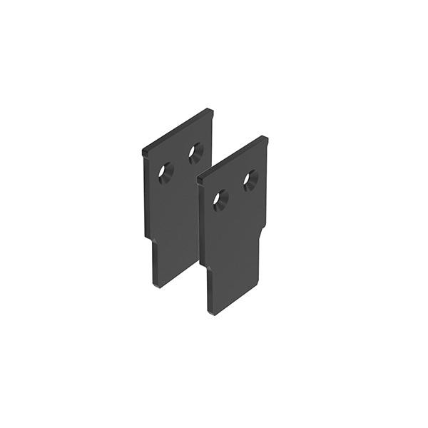 Flos Architectural The Tracking Magnet End Caps Recessed AN 06.5008.14 Black