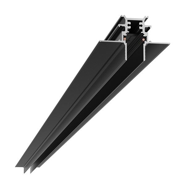 Flos Architectural The Tracking Magnet Profile Recessed Dali/1-10V/Flos Smart Control Dimmable AN 06.5040.14 Black