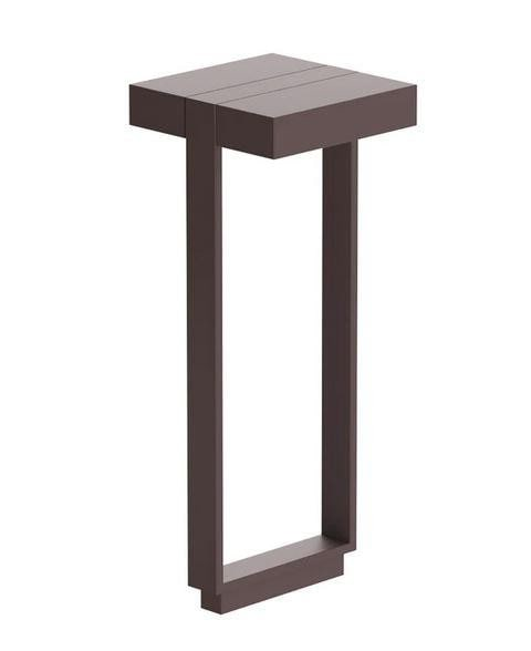 Flos Mile Bollard 2 600 Double Dali FL F015J42D018 Deep brown