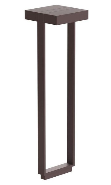 Flos Mile Bollard 2 900 Double Dali FL F015K42D018 Deep brown