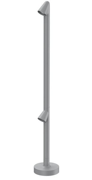 Flos Walkstick 2 930 Double Dali FL F010C22D006 Grey