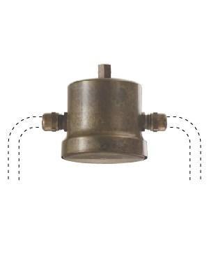 Il Fanale Accessori junction box IF 270.10.OO Brass