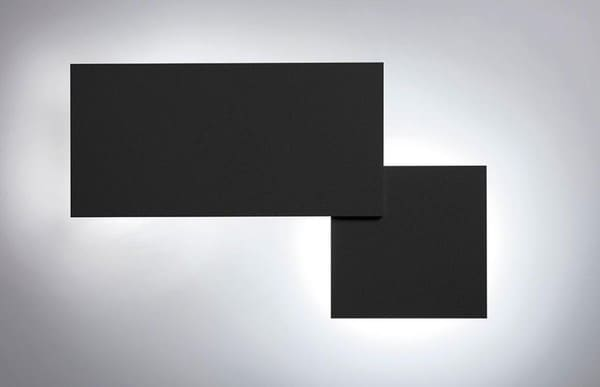Lodes Puzzle Square & Rectangle SI 146034 Matted black