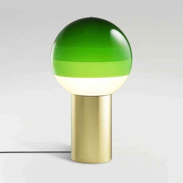 Marset Dipping Light S positions 1-3 MR A691-070 Green / Brass