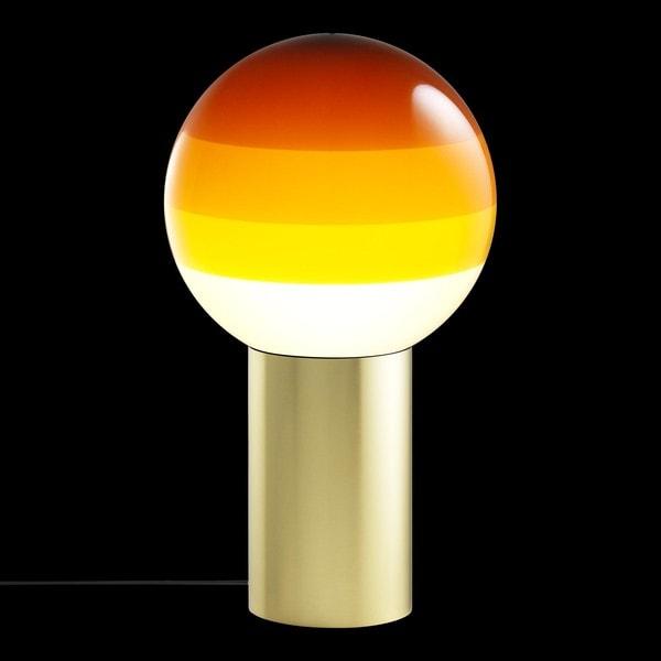 Marset Dipping Light S positions 1-3 MR A691-072 Amber / Brass