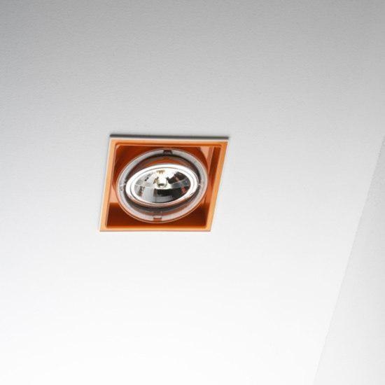Marset Sqaxis 19.1 Low Voltage MR A606-003 White / Orange