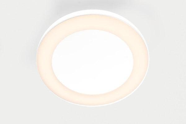 Modular Lighting Flat Moon Eclips 650 Ceiling Down LED Dali/pushdim GI MO 13362409 White structured