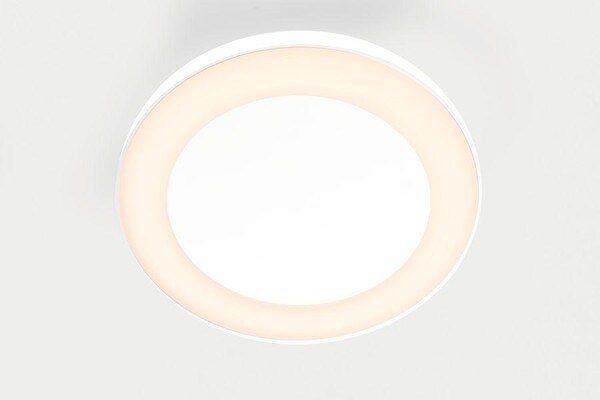 Modular Lighting Flat Moon Eclips 650 Ceiling Down LED Dali/pushdim GI MO 13362509 White structured