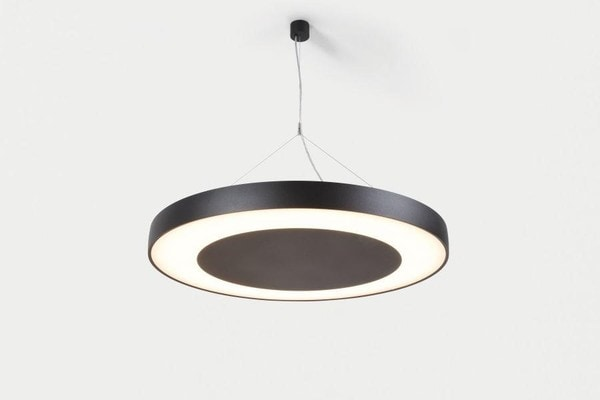 Modular Lighting Flat Moon Eclips 950 Suspension Down LED Dali/pushdim GI MO 13373532 Black structured