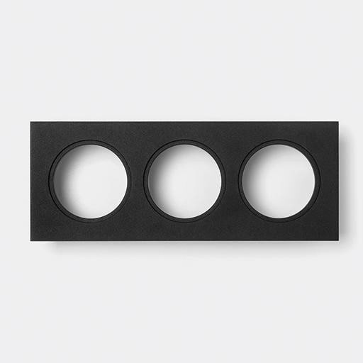 Modular Lighting K Set 72 3x MO 14042232 Black structured