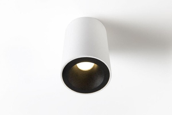 Modular Lighting Lotis Tubed Recessed MR16 GE MO 10883429 White structured / Black