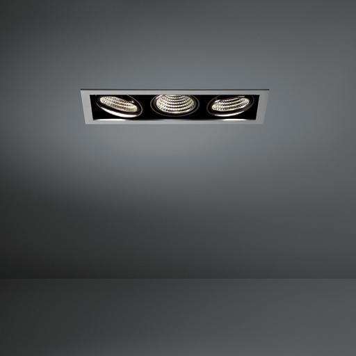 Modular Lighting Mini Multiple 3x Led MO 11434005 Aluminium / Black